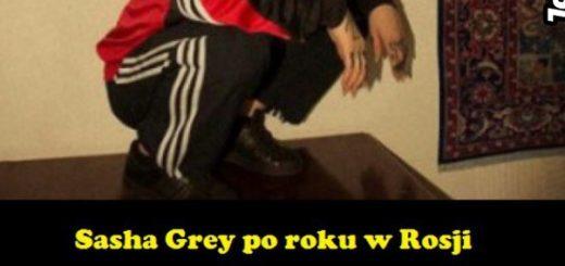 Sasha Grey po roku w Rosji xD Obrazki