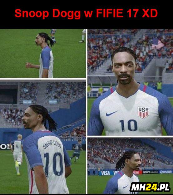 Snoop Dogg w FIFIE 17
