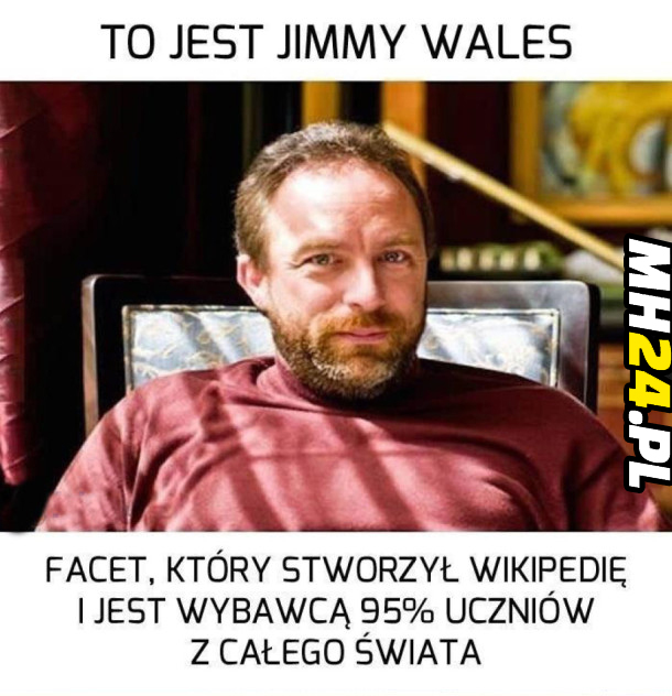 To jest Jimmy Wales