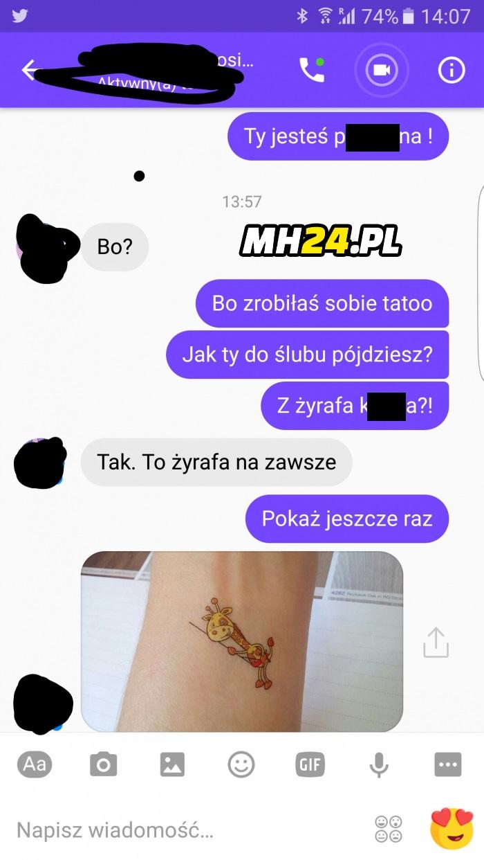 Najlepszy tatuaż xD Obrazki