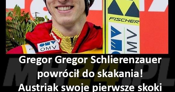 Gregor Schlierenzauer wrócił na skocznię!