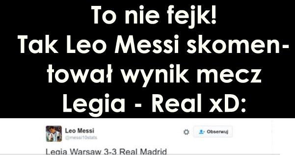 Messi – prawdziwy śmieszek
