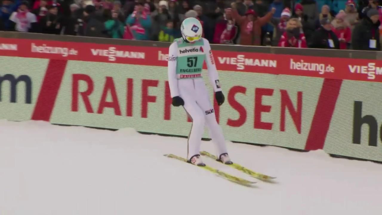 Wspaniały skok Kamila Stocha! Engelberg -143,5 m!
