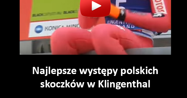 Najlepsze występy polskich skoczków w Klingenthal