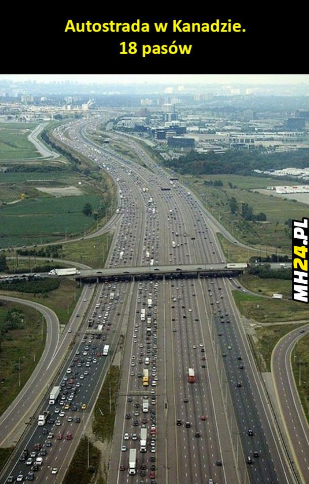 Autostrada w Kanadzie