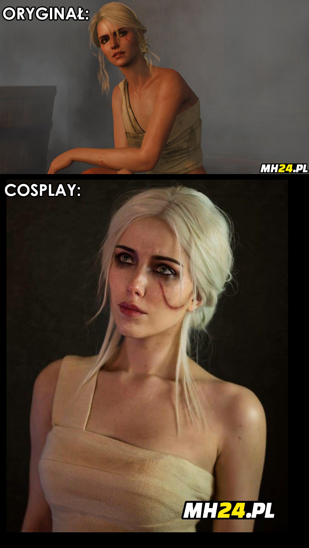 Ciri z Wiedźmina – cosplay