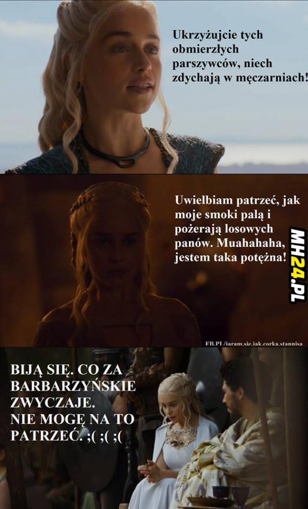 Daenerys jako przykład kobiecej logiki