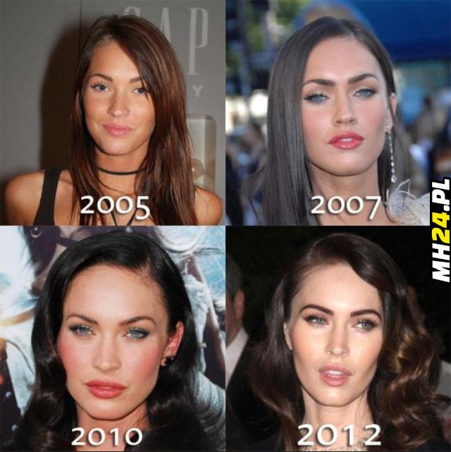 Ewolucja Megan Fox