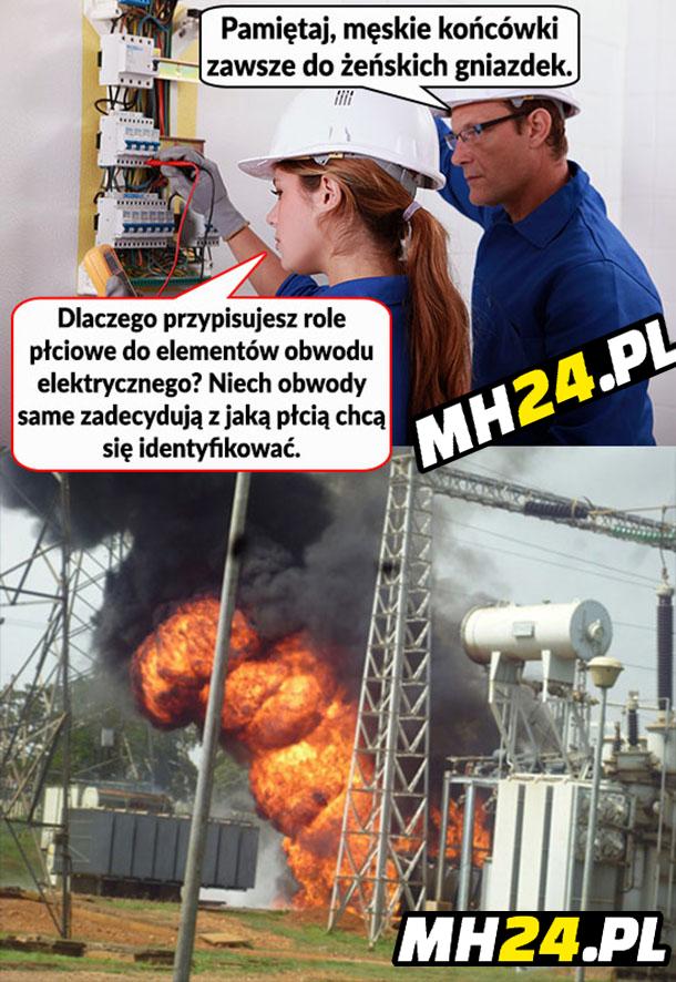 Feministka elektryk Obrazki