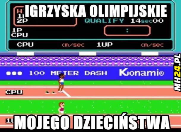 Igrzyska olimpijskie mojego dzieciństwa