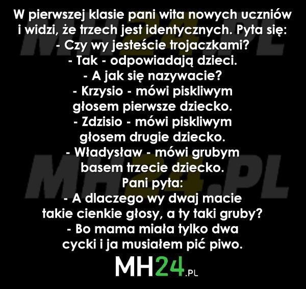 Krzysio, Zdzisio i Władysław Kawały