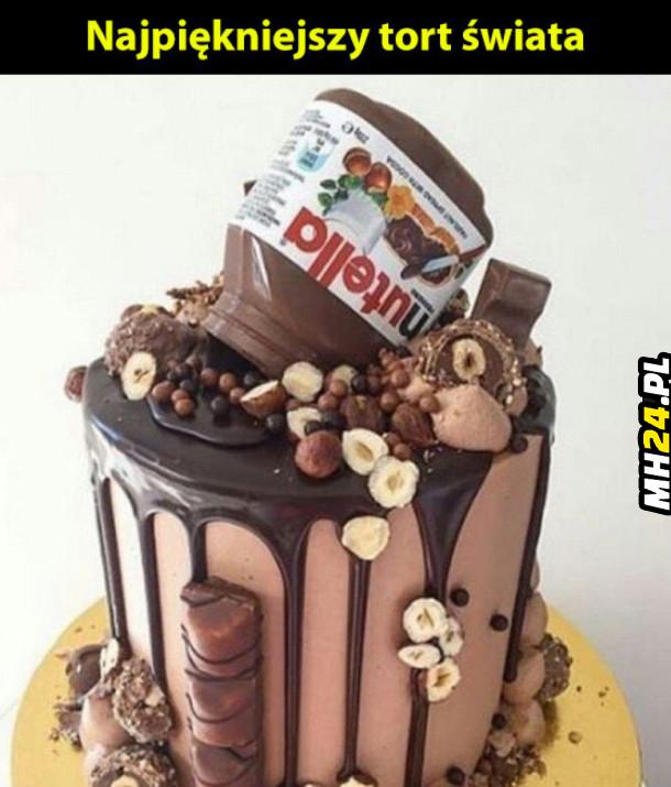 Najpiękniejszy tort świat