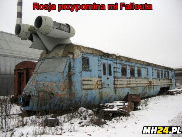 Rosja przypomina ma Fallouta Obrazki