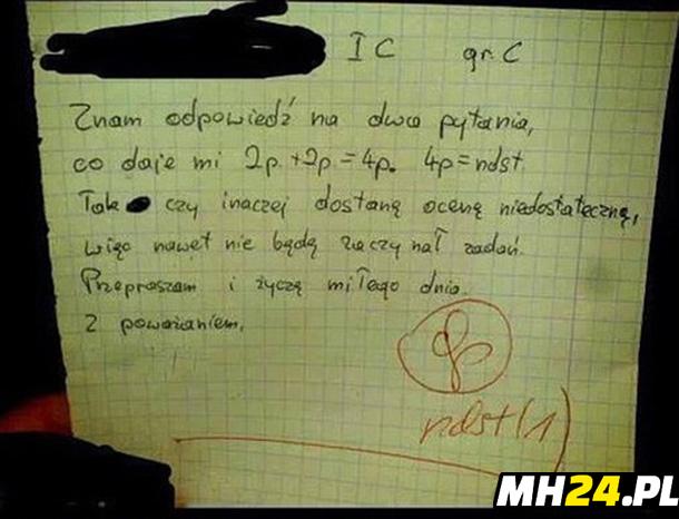 Szczery uczeń