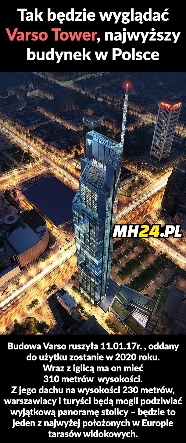 Tak będzie wyglądać najwyższy budynek w Polsce