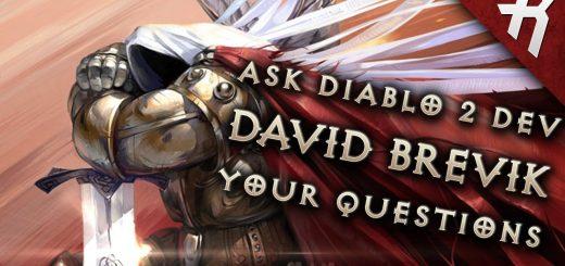 Diablo's Past & Future Interview: David Brevik (Diablo 2 lead dev) - ASK YOUR QUESTIONS Video