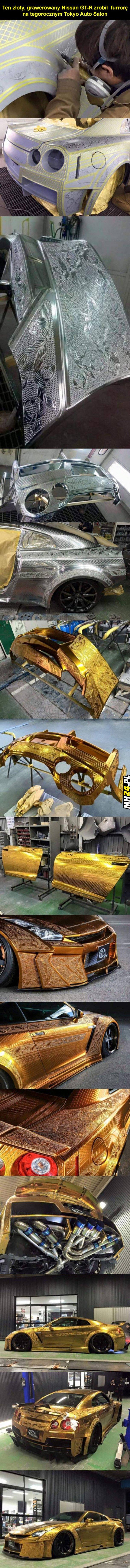 Auto ze złota Motoryzacja