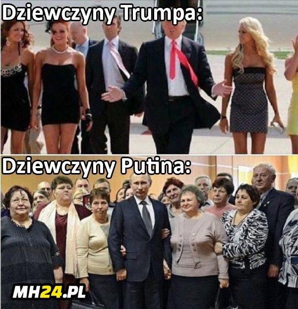 Dziewczyny Trumpa i Putina xD