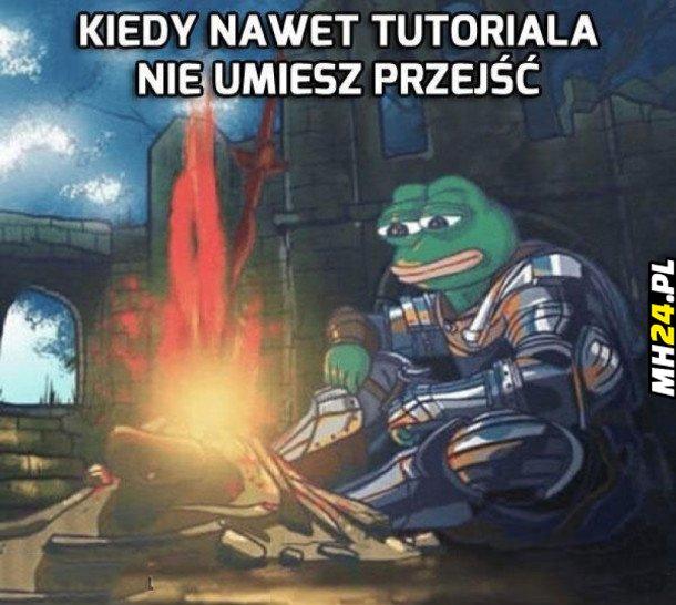 Kiedy nawet tutoriala…