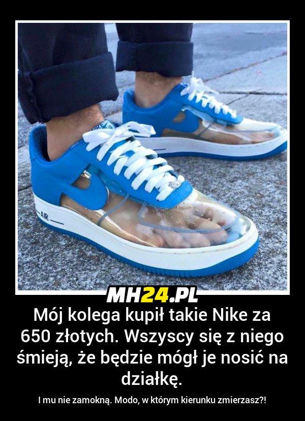 Koleś kupił takie buty za 650 zł Obrazki