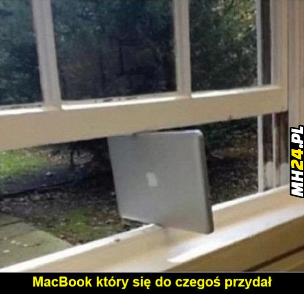 MacBook, który się przydał