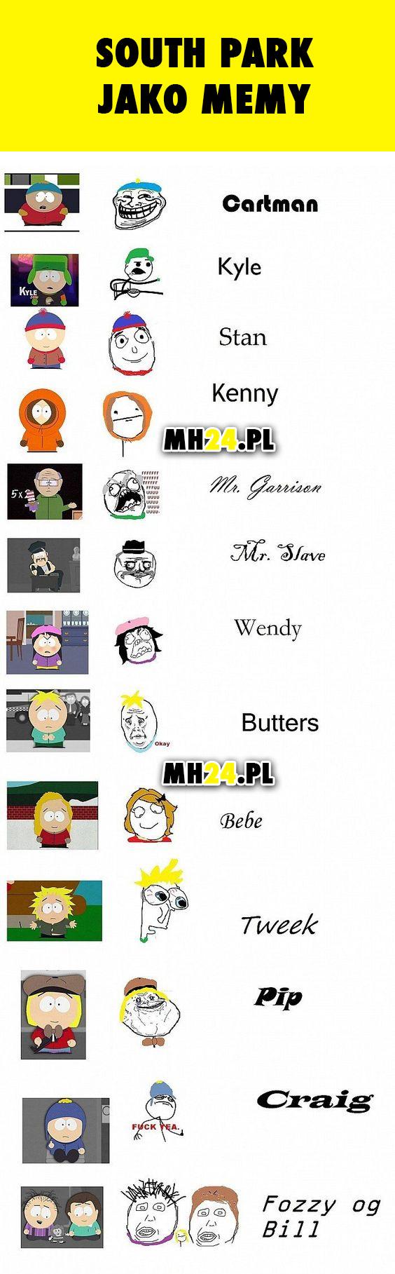 South Park jako memy