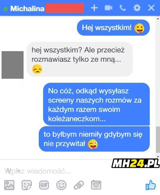 Zaorał Michalinę xD Obrazki