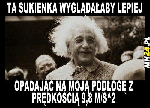 Einstein – mistrz podrywu