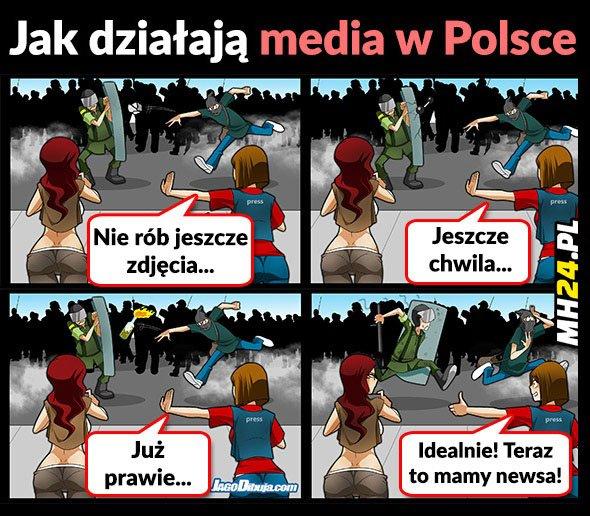 Jak działają media w Polsce