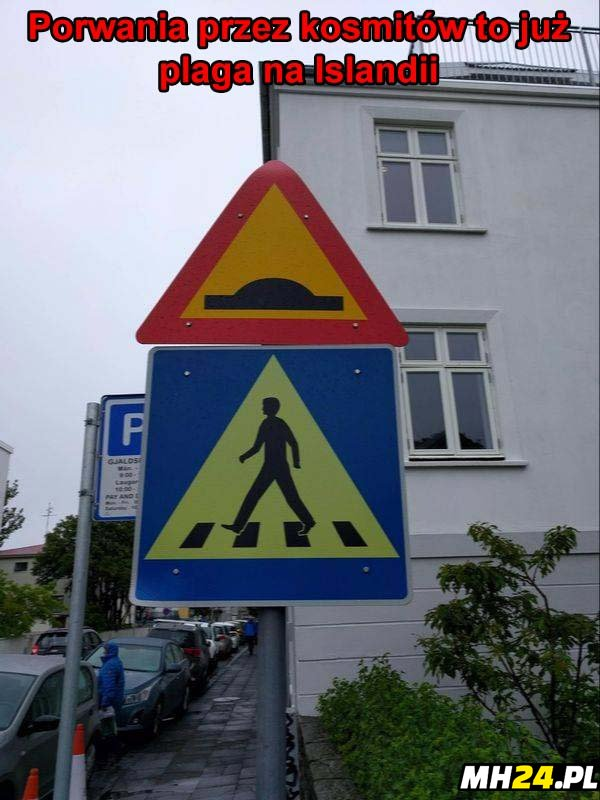 Kosmici w Islandii