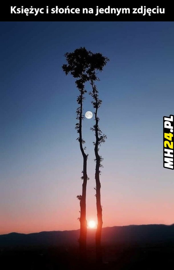 Księżyc i Słońce