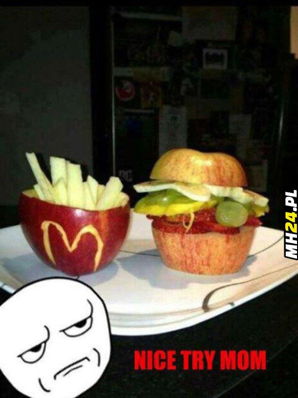 McDonald według mamy