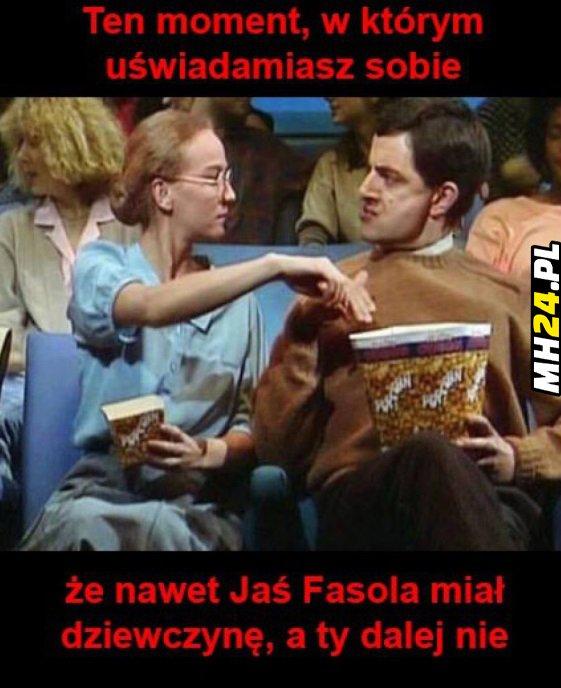 Nawet Jaś Fasola miał dziewczynę