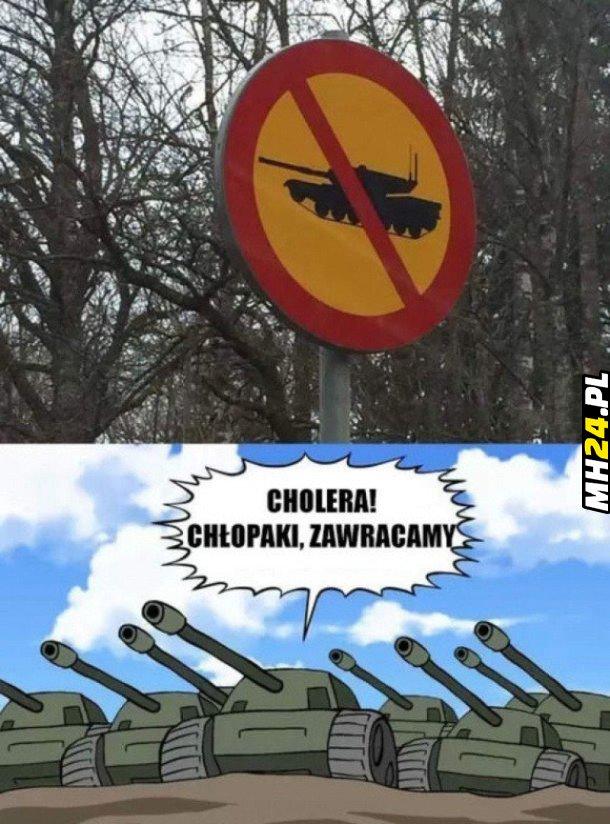 Nie dla czołgów Obrazki