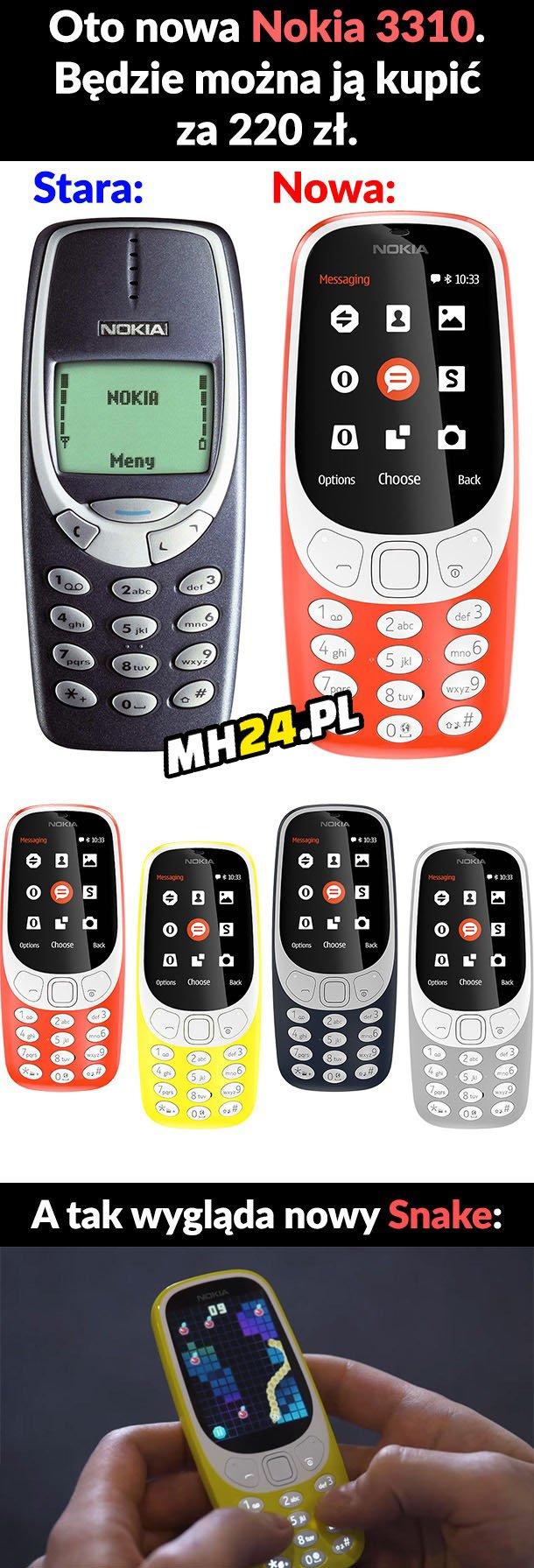 Nowa Nokia 3310 Gadżety