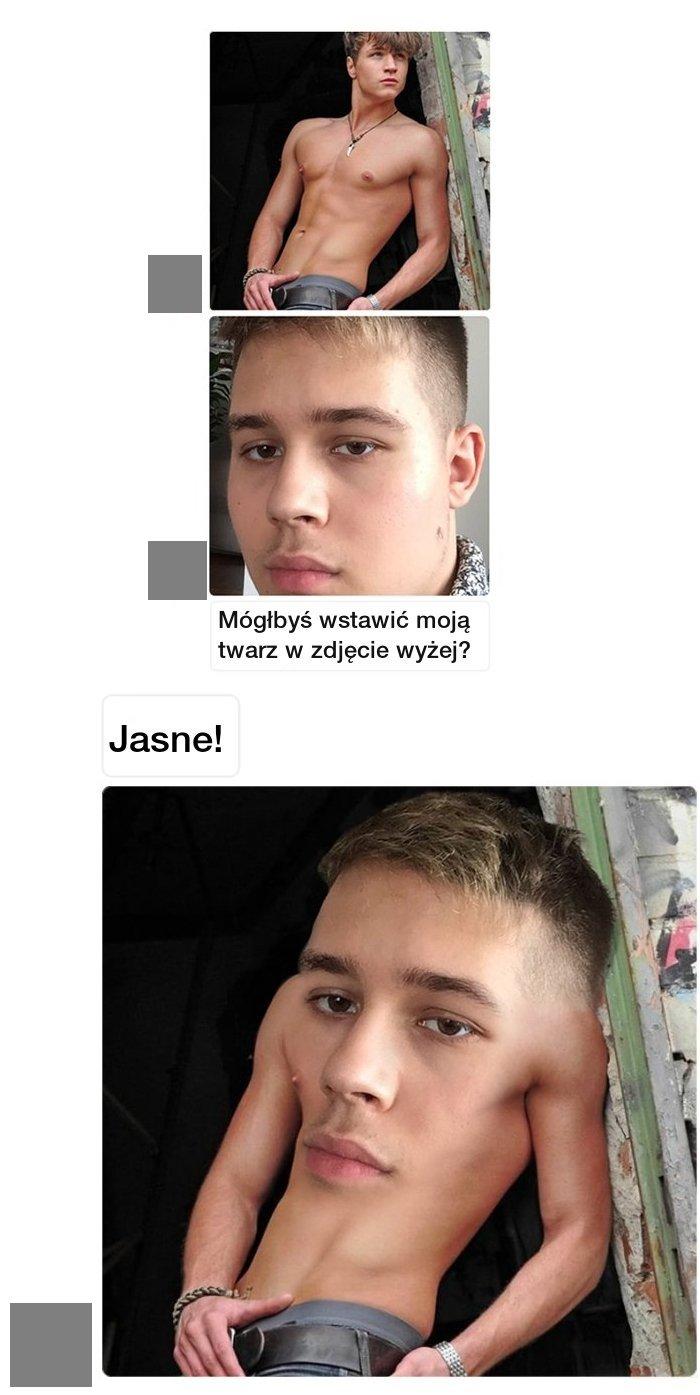 Prawdziwy mistrz photoshopa Obrazki