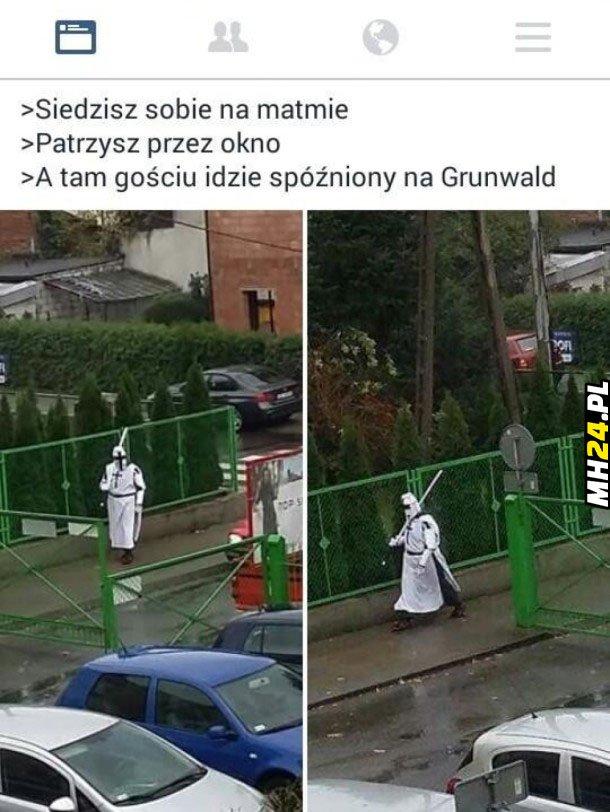 Spóźniony na Grunwald