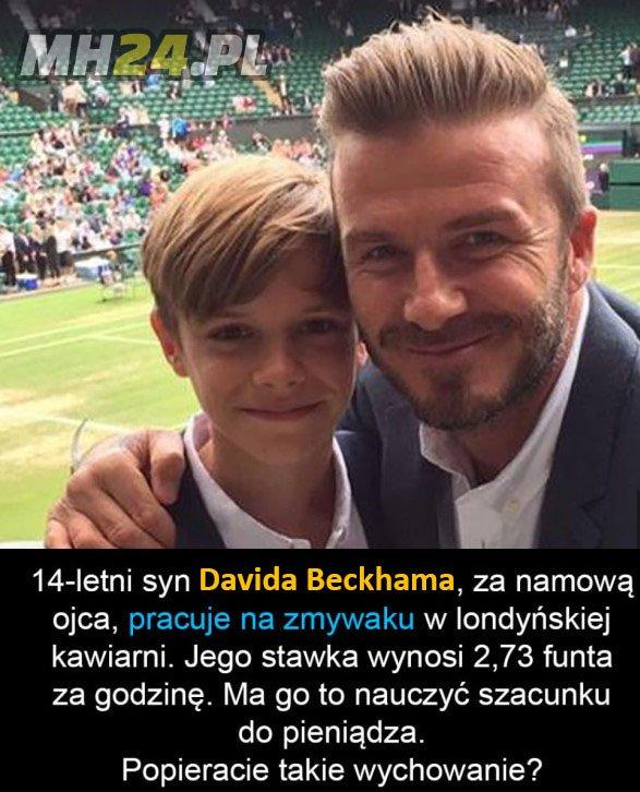 Wychowanie według Beckhama Obrazki Sport