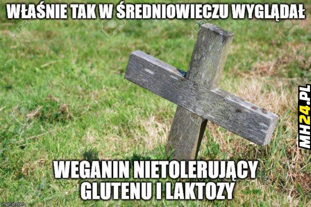Średniowieczny weganin