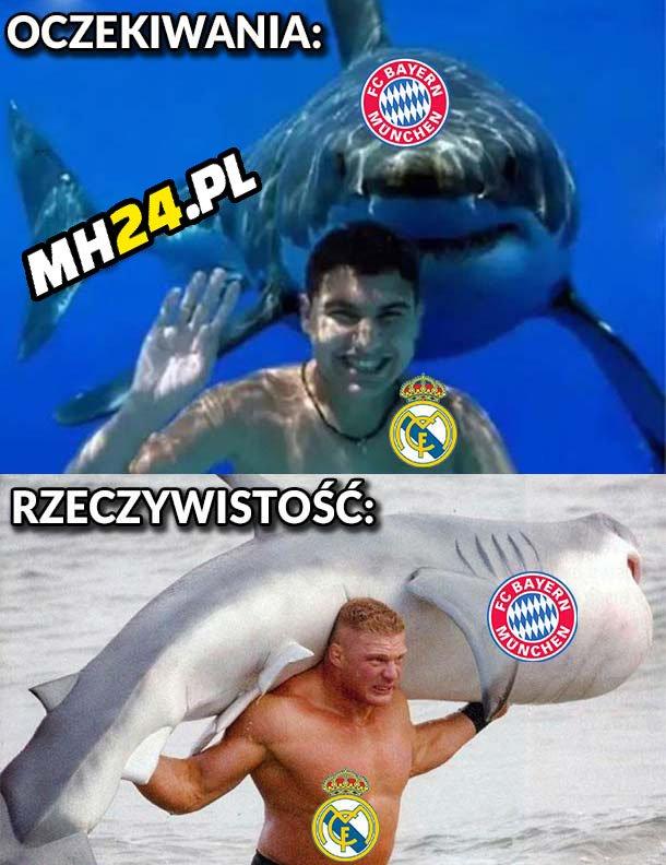 Bayern vs Real – oczekiwania vs rzeczywistość