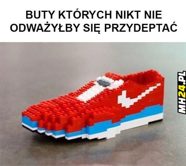 Buty Lego xD