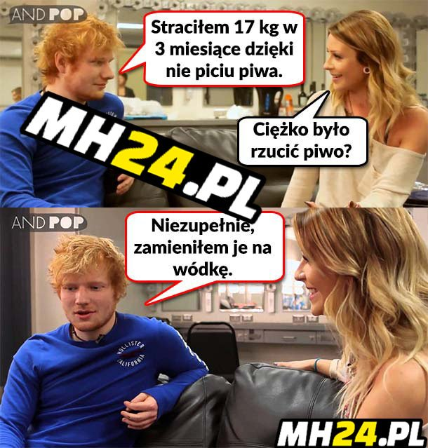 Ed Sheeran to swój chłop!