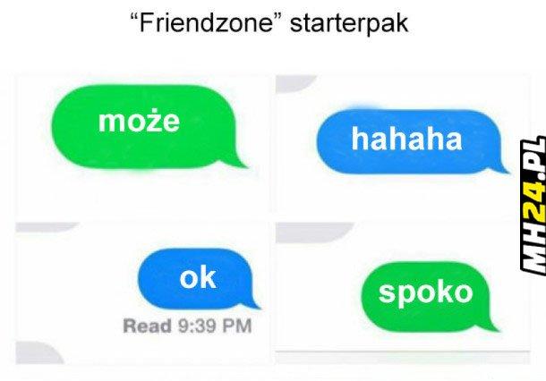 Friendzone starterpack
