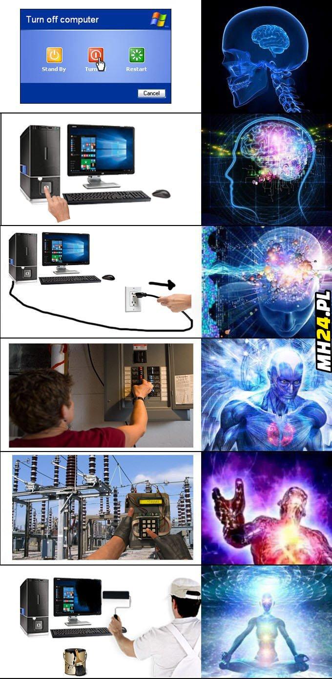 Jak prawidłowo wyłączyć komputer Bez kategorii