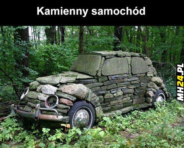 Kamienny samochód
