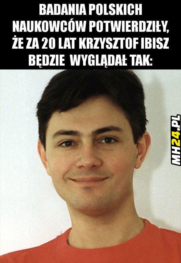 Krzysztof Ibisz za 20 lat