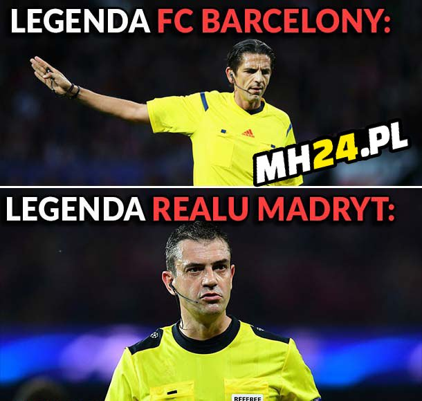 Legendy Barcelony i Realu Madryt Sport