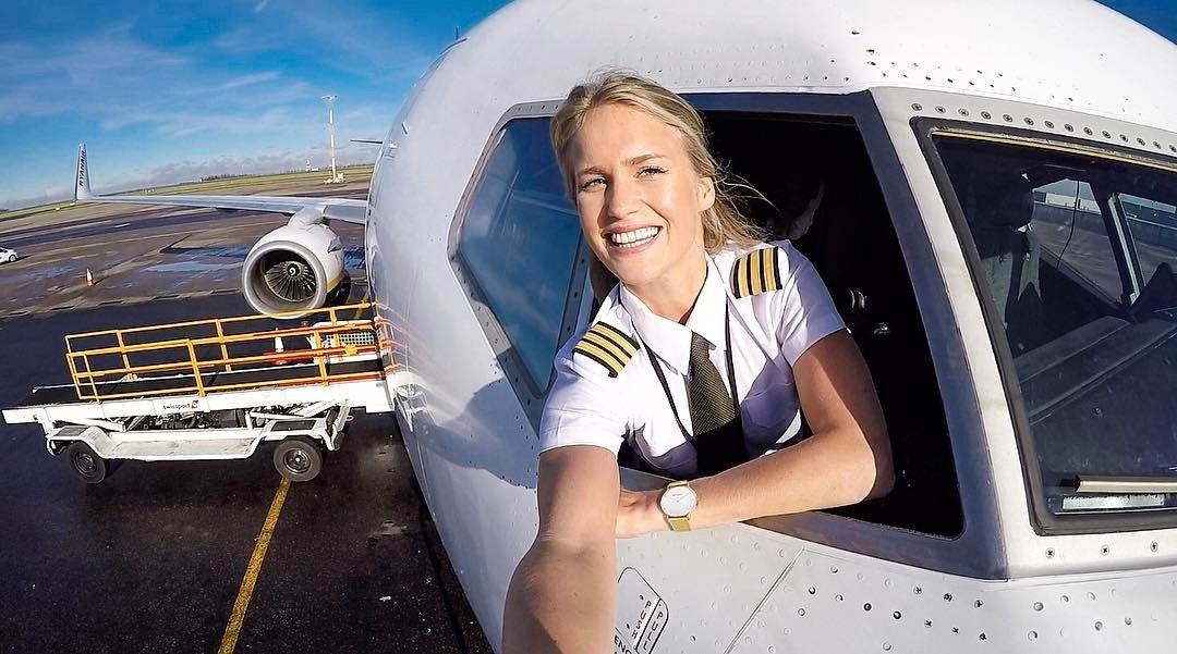 Najgorętsza pani pilot Lifestyle