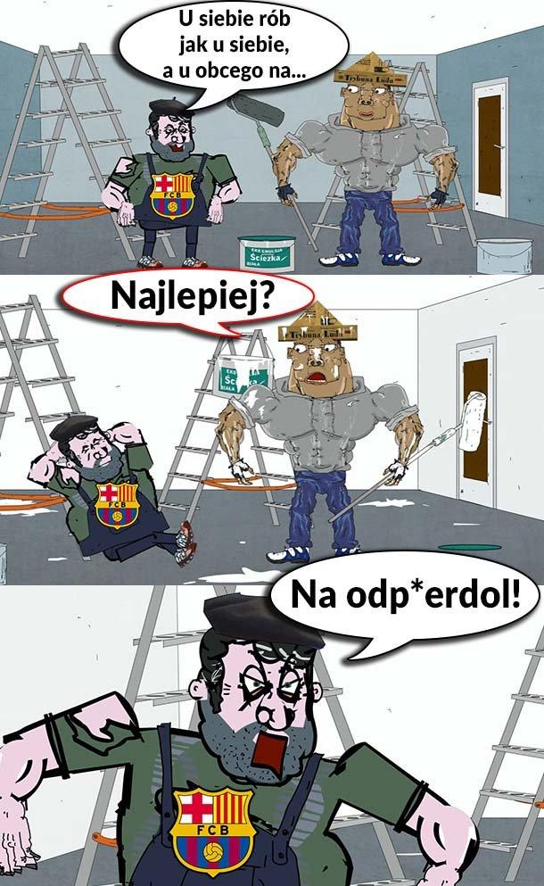 Nowa zasada fanów Barcelony Sport