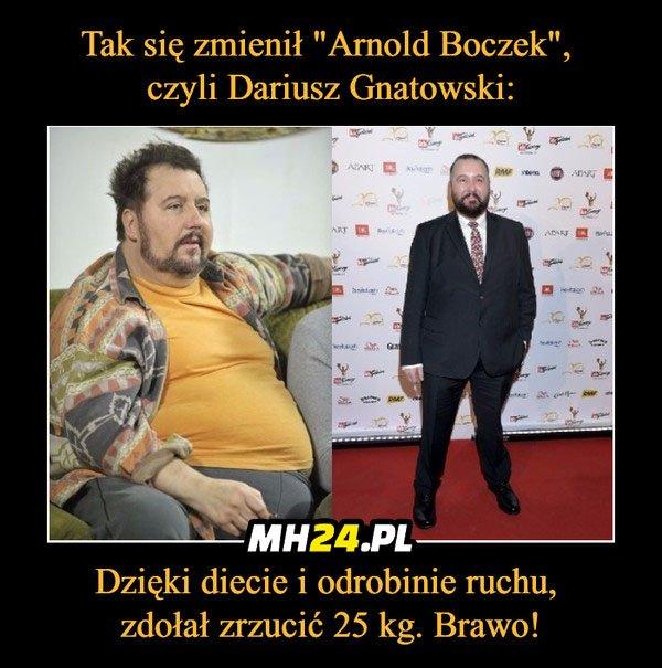 Tak się zmienił Arnold Boczek